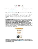Sally Snacks Vension Jerky Dog Treats to Launch at SuperZoo 2017