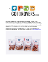 GoToRovers.com presents our newest products: Simply American Chews Sweet Potato Chips and Chicken Bites