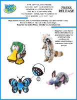 Happy Tails Pet Products is proud to introduce a new creative toy line to add to their 2017 Lineup