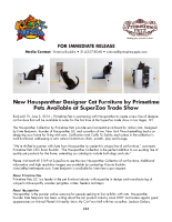 New Hauspanther Designer Cat Furniture by Primetime Petz Available at SuperZoo Trade Show