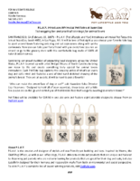 P.L.A.Y. Introduces Whimsical Pet Totes
