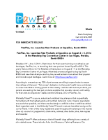 PawFlex, Inc. Launches New Products at SuperZoo