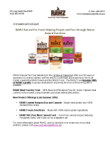 RAWZ Natural Pet Food: Helping People and Pets through Better Animal Nutrition