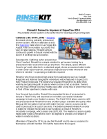 RinseKit Poised to Impress at SuperZoo 2016