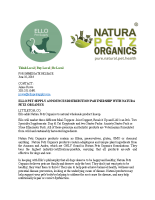 ELLO PET SUPPLY ANNOUNCES DISTRIBUTION PARTNERSHIP WITH NATURA PETZ ORGANICS