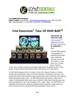 Vital Essentials Tabs VE RAW BAR