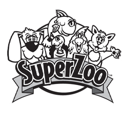 SuperZoo Event Logo B&W
