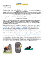 Spring/Summer Pet Safety Risks for Pets and Ground-Breaking Vet-Approved Solutions for Protection