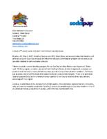 SODAPUPTM ANNOUNCES PRODUCT CUSTOMIZATION PROGRAM