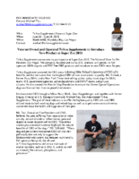 Veteran Owned and Operated Trikos Supplements To Introduce New Product at SuperZoo 2018