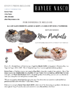 Baylee Nasco Presents America's Most Luxurious Pet Beds at SuperZoo