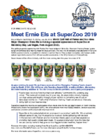 Meet Ernie Els at SuperZoo 2019